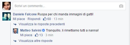 Matteo Salvini ruspa